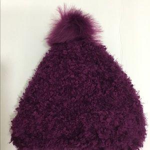 Women winter warm fleece knit hat